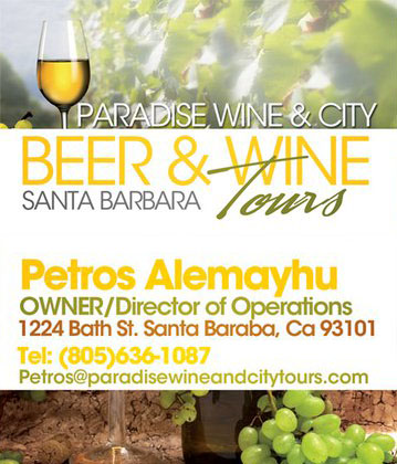 """Beer & Wine Tours"" Business Card"